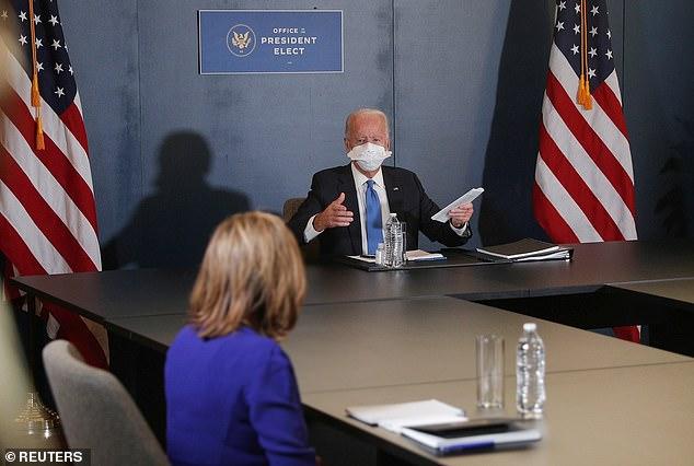 Joe Biden tells Nancy Pelosi she'll be 'needed' in the Oval Office