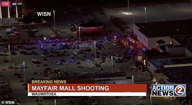 Police Chief Barry Weber said 'there have not been any fatalities that I am aware of'