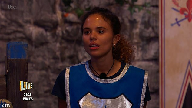 Drama:Meanwhile, there was further furore and cheat accusations as Jessica Plummer went up against AJ Pritchard in their part of the challenge