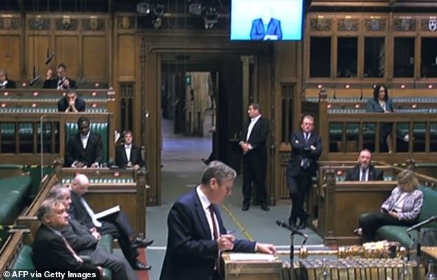 At Prime Minister's Questions on Wednesday, Mr Johnson was asked by Labour MP Anna McMorrin to distance himself from reports of the aid cut and 'stop this retreat' from the global stage