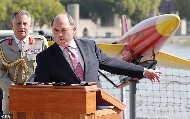 Senior figures including Ben Wallace, the Defence Secretary, have been touting the need for a high-tech revamp, including drones