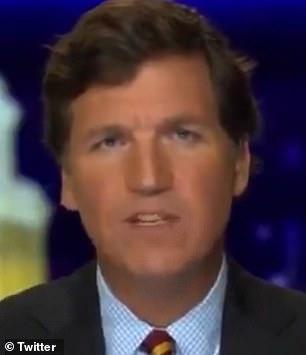 Fox News host Tucker Carlson