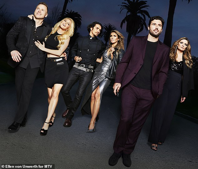 California girl: It came after The Hills: New Beginnings, a reboot of the 2006 MTV reality series, was renewed for a second season last July, before it was announced she wasn't returning