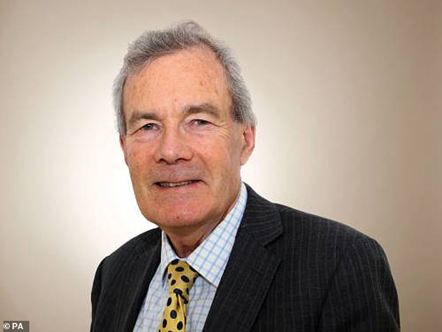 The author of the report – the Prime Minister's adviser on standards, Sir Alex Allan (pictured) – has thrown in the towel in exasperation