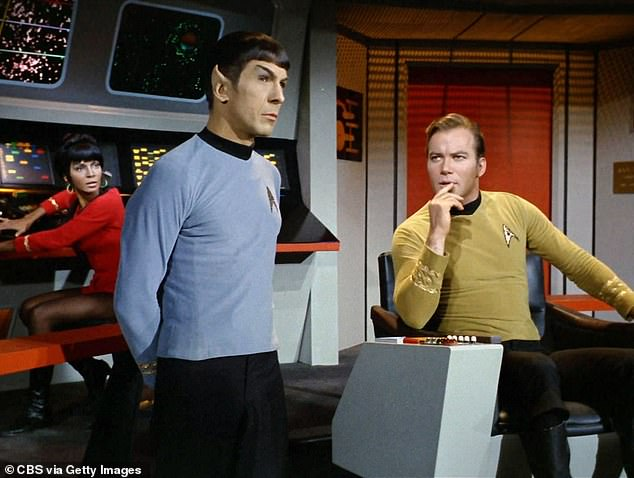 Helping hand: In the book These Are The Voyages, it was revealed Herb was one of two executives who firmly championed Star Trek, persuading Lucille it was not a financial risk