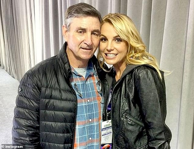 Family: Paris discussed Britney's father Jamie running her conservatorship, which began in 2008 following her 2007 breakdown. He now controls more than $60million of her fortune
