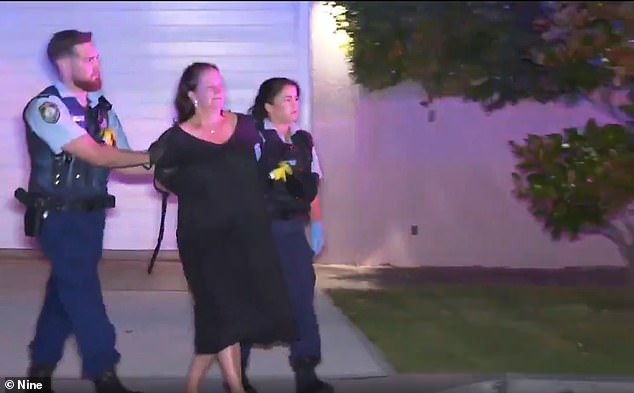 Samantha Palmer, 55, was arrested after her son Hugo Ball was found stab wounds at their home at Bellevue Hill in Sydney's eastern suburbs at 1.30am on Saturday