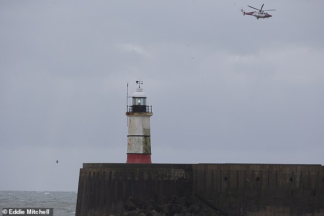 A major search and rescue operation was launched after the Joanna C's emergency beacon began broadcasting at 6am