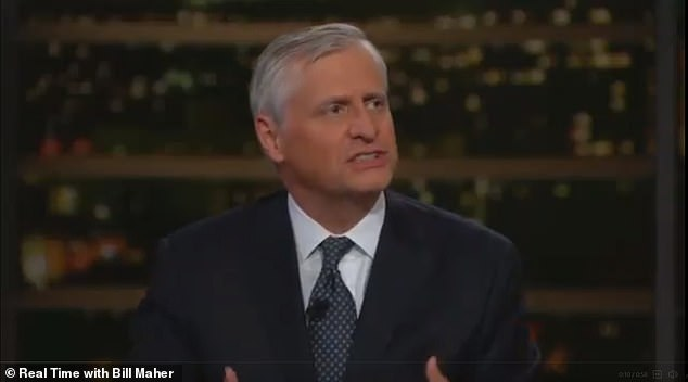 Jon Meacham (pictured): 'The voters of Georgia have one more shot to get this right by sending these Democrats to the Senate'