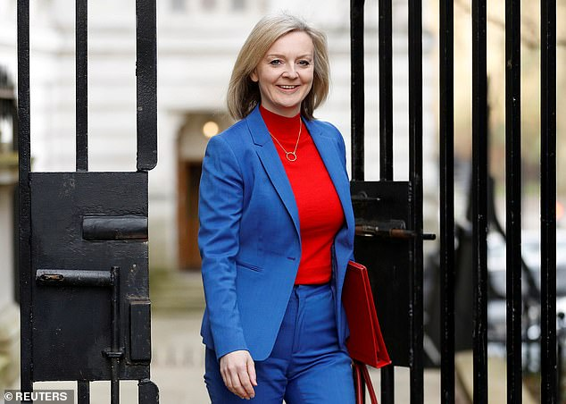 International Trade Secretary Liz Truss said: 'Today's agreement underpins £20billion worth of trade and locks in certainty for thousands of jobs'