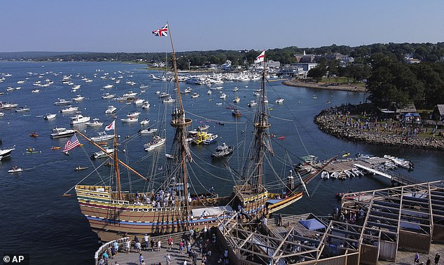 November 21, 2020 is the 400th anniversary of the day the Mayflower arrived at what we now know as Plymouth, Massachusetts. (Pictured:The Mayflower II)