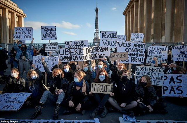 The Office of the UN High Commissioner for Human Rights and France's human rights ombudsman have voiced concerns that the new provision could undermine fundamental rights. Pictured: Paris today