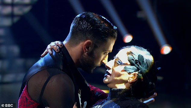 Hot! Shirley Ballas was blown away by the intense closeness between Ranvir Singh and Giovanni Pernice as she branded their dance 'so hot' during Saturday's live show
