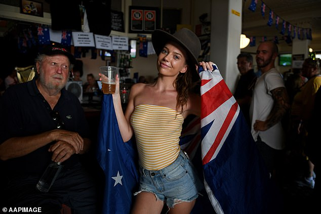 The National Australia Day Council has offered local governments and event organisers grants of up to $20,000 to fund any necessary health measures (celebrations pictured in 2019)