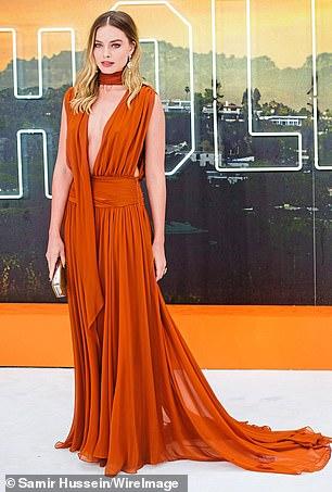 Margot Robbie pictured in July last year