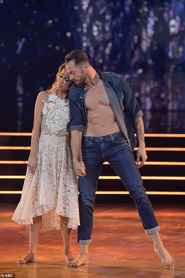 Ending on a high note:According to ABC, Bristowe and pro Artem Chigvintsev will repeat their Argentine Tango to Toxic by Britney Spears and do a Freestyle dance to Sparkling Diamonds from Moulin Rouge; Kaitlyn and Artem pictured on November 16