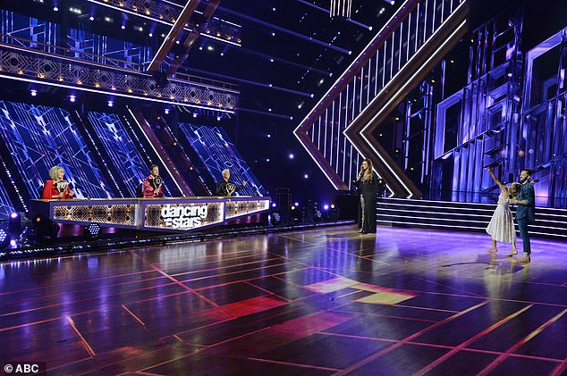 Finale:One of four remaining celebrity contestants will walk away with the highly coveted Mirrorball Trophy during Monday night's finale of Dancing With The Stars on ABC; Kaitlyn and Artem pictured on November 16