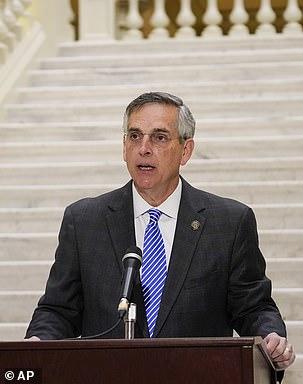 Georgia Secretary of State Brad Raffensperger said he will certify that Joe Biden won the state's presidential election