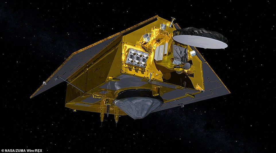 The Sentinel 6 program is made up of two identical satellites, with the first (seen in the render above) launched on this mission, they will monitor the evolution of sea level from space.