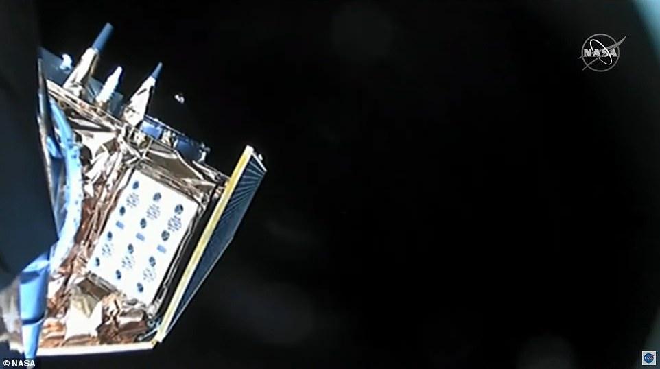 NASA video shows Sentinel-6 Michael Freilich satellite orbiting above Earth