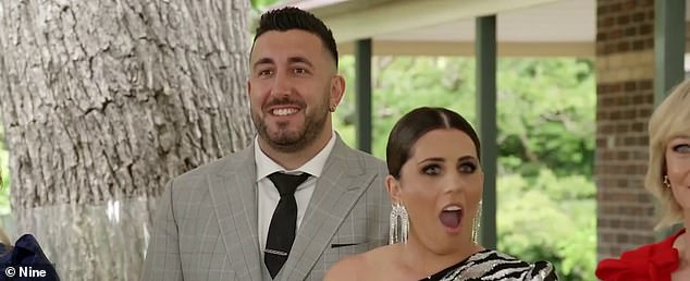 The Block 2020 finale: Sarah and George (both pictured) declared 'it's nuts' as they pocketed an incredible $650,002 profit at auction during Sunday's episode