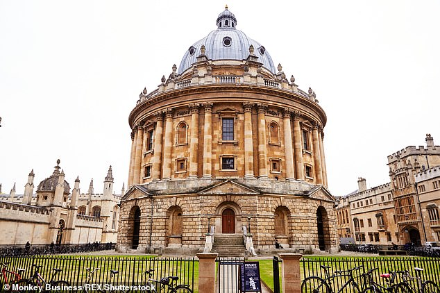 The University of Oxford (pictured) and The University of Cambridge are understood to have contacted schools to find out how many hours of teaching candidates have misse