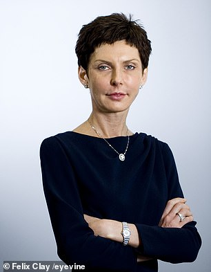 Denise Coates, 53, pictured, the founder of Bet365, was paid a salary of £323m last year - making her the highest earning British chief executive