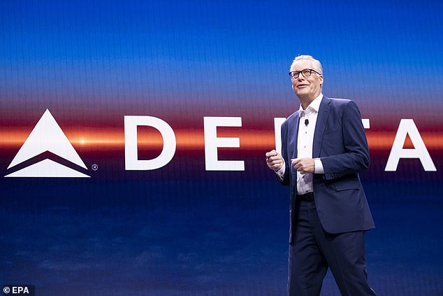 Delta CEO Ed Bastian (pictured) told the Financial Times it would be easier to restart routes between New York and other European cities