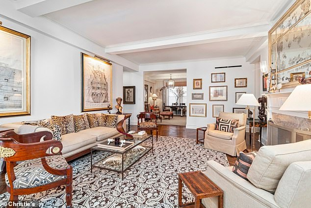 Art and decorative objects from Griscom's plush Manhattan apartment will go under the hammer in a series of online sales from December 2-17