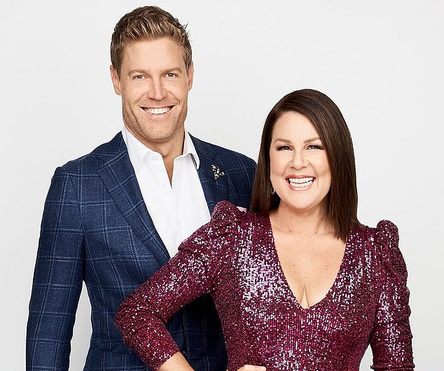 I'm a Celebrity... Get Me Out of Here! SPOILER: Hollywood actress 'producers have wanted for years' is joining the 2021 season. Pictured: hosts Dr Chris Brown and Julia Morris