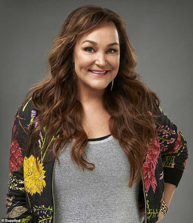 Familiar face: The footy WAG, 37, will be replaced in the afternoon time slot by comedian Kate Langbroek (pictured) in 2021, the Australian Radio Network confirmed on Monday