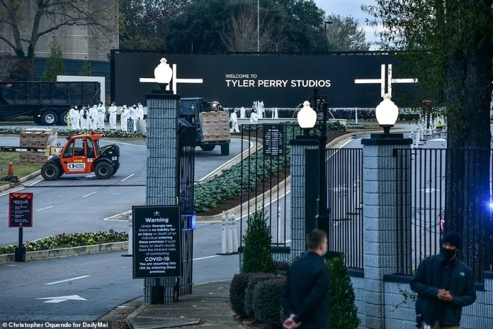 Tyler Perry's Atlanta studio is one of the largest in the country and was where Black Panther was filmed