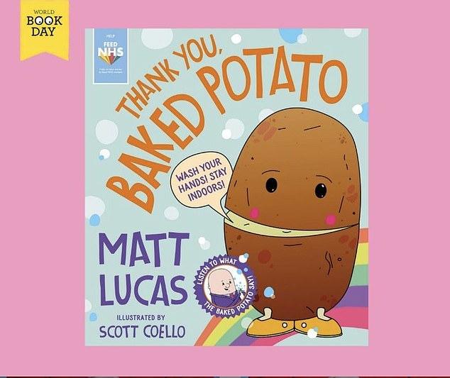 Charitable: Matt has released baked potato-themed books and singles to raise money for food charities during the coronavirus pandemic