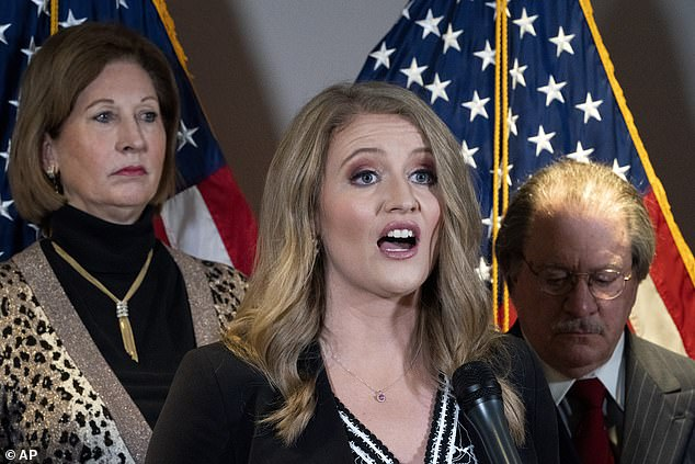 Trump lawyer Jenna Ellis says Trump campaign trial on Pennsylvania will go to Supreme Court