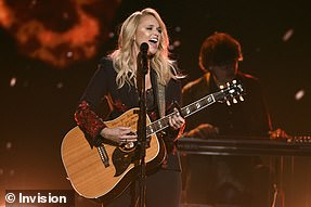 In the country music categories, Miranda Lambert topped with three nominations, making her mark in Best Country Album