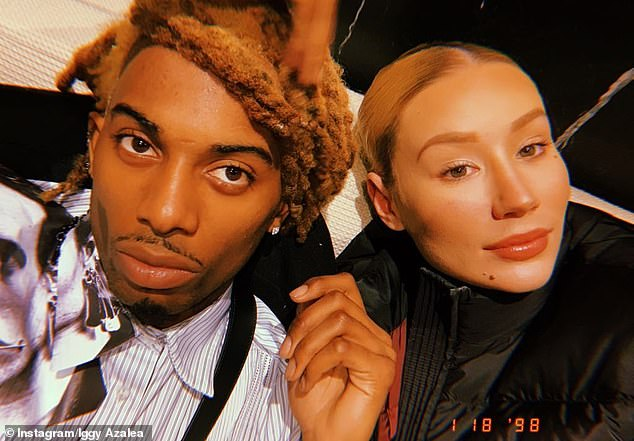 Oh no!  On Monday, Iggy blasted her ex Playboi Carti after he shared a questionable post that appeared to be disrespectful towards her and their son. Pictured together