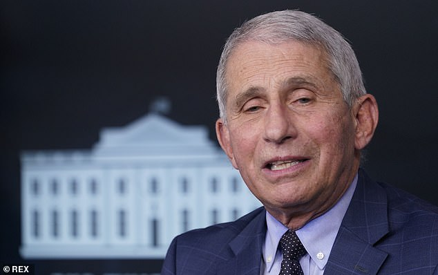Biden said his staff has spoken to Dr. Anthony Fauci but he has not yet personally