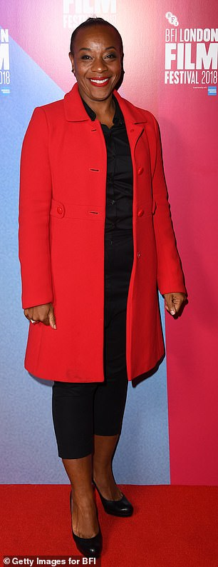 Star-studded: British actress Marianne Jean-Baptiste will also star in the film (pictured in 2018)