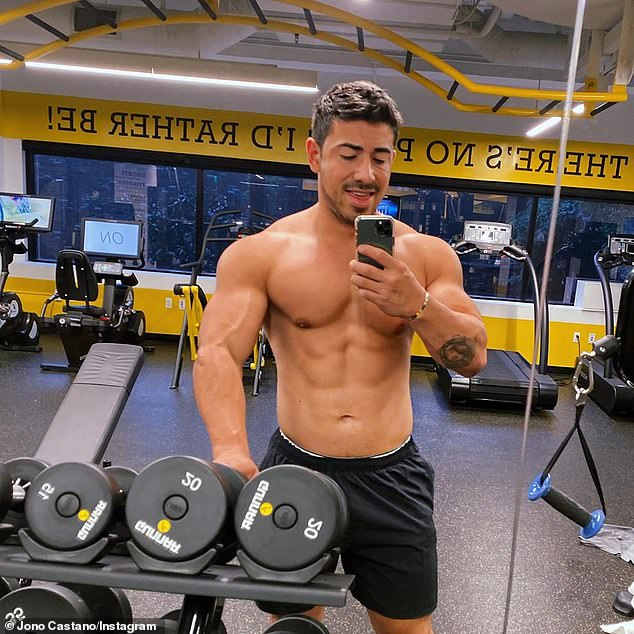 Be smart:Jono's first piece of advice is articulate what your fitness goals are, and why you want to achieve them.'This is paramount as it drives everything you want to do,' says the in-demand trainer to the stars