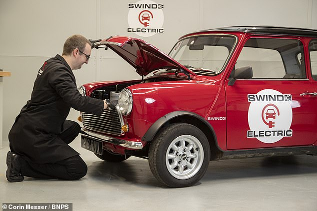The British Motor Company released the first Mini model back in 1959 — with the tiny, two-doored economy vehicle going on to become an icon of 60s UK culture