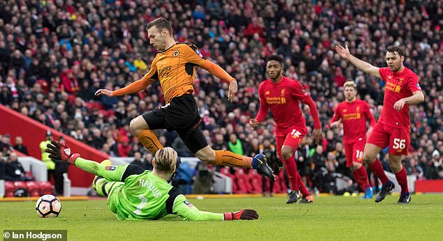 One of Klopp's lowest ebbs at Anfield came in a 2-1 FA Cup loss to Championship side Wolves