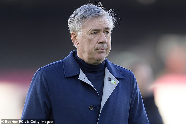 He is pushing to break into Carlo Ancelotti's squad behind Niels Nkounkou and Lucas Digne