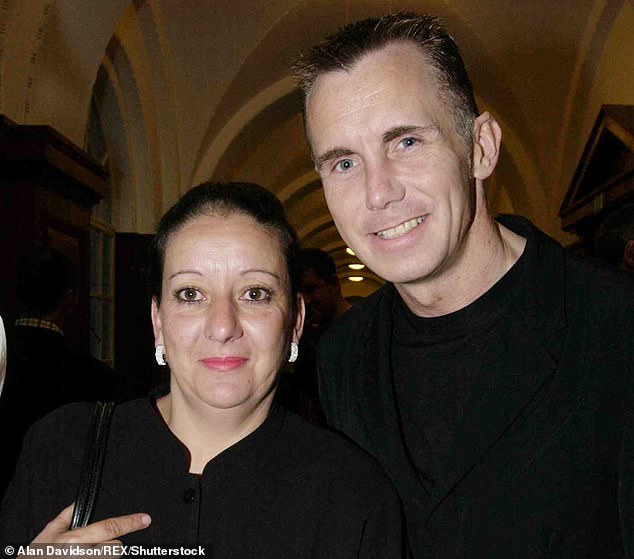 Television chef Gary Rhodes died aged 59. Pictured right: Rhodes with his wife Jennie