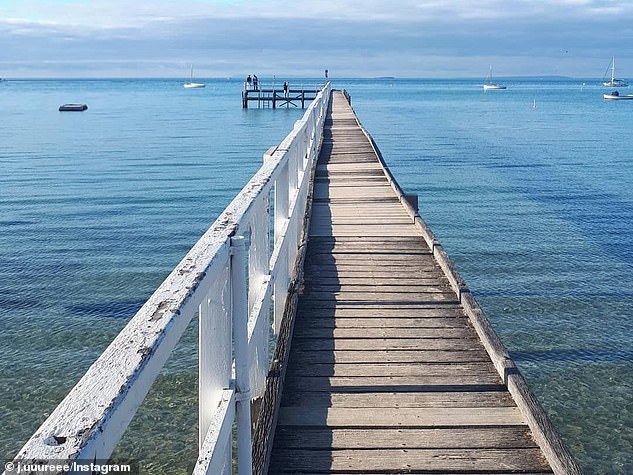 Famed for its luxury hot springs and day spas, tourists are encouraged to 'relax, slow down and restore the senses' and 'leave the phone at home' to let the region truly work its magic (pictured, Mornington Peninsula)