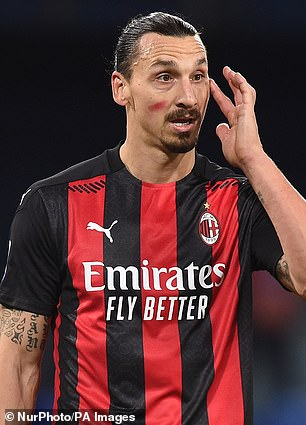 Zlatan Ibrahimovicclaimed 'somebody is making profit on my name and face'