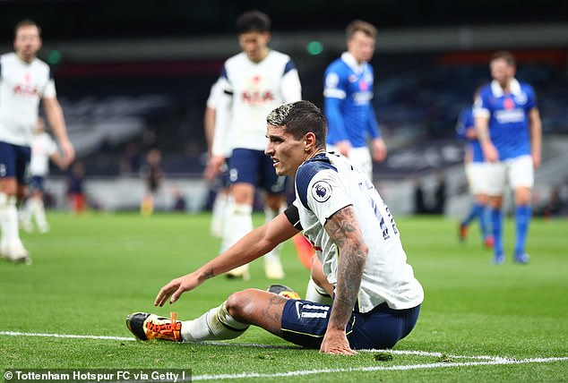 Erik Lamela is currently out with a foot injury and will not be available to Mourinho this week