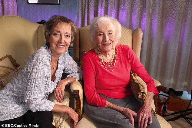 Virginia Lewis-Jones with Dame Vera Lynn