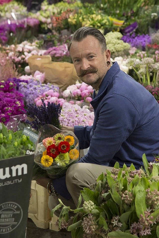 Celebrity floristSimon Lycett has slammed the government for its treatment of the events industry during the Covid crisis, saying it had been 'totally forgotten'