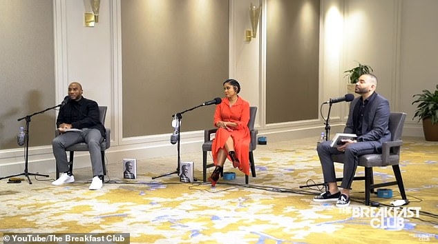 Interview: Obama was speaking in an interview with The Breakfast Club hostsCharlamagne Tha God, Angela Yee and DJ Envy
