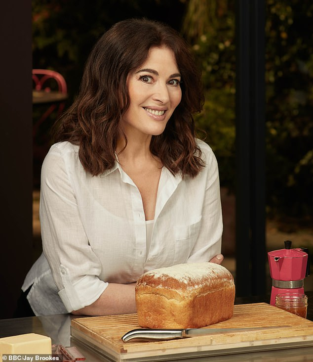 Nigella Lawson (pictured) has been mocked for making a meal out of the simplest dish afterspending 71 seconds telling the UK how to butter toast correctly